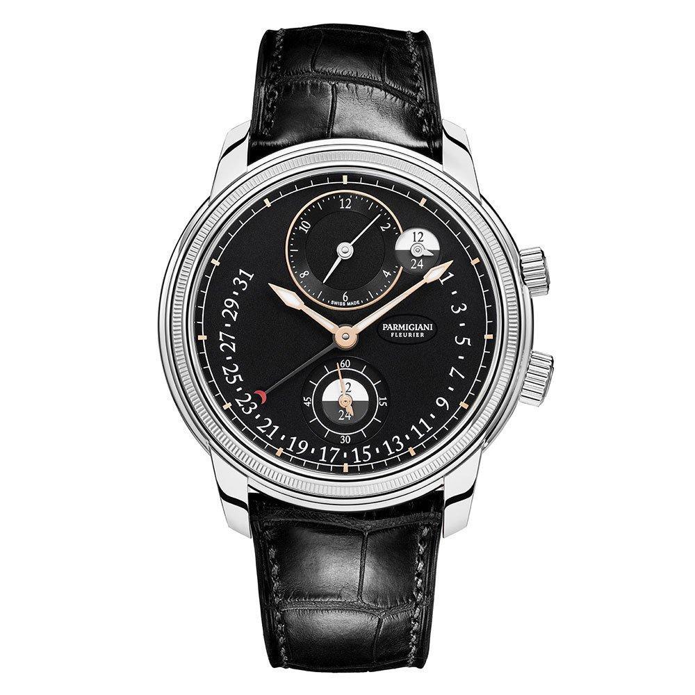 Parmigiani Toric Hemispheres Retrograde Automatic Men's Watch