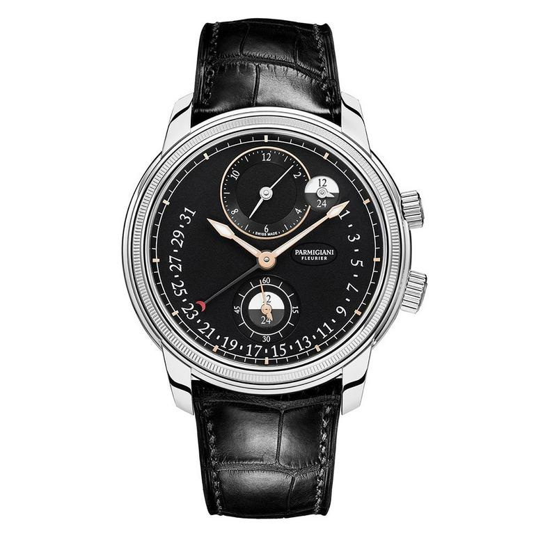 Parmigiani Toric Hemispheres Retrograde Automatic Men's Watch