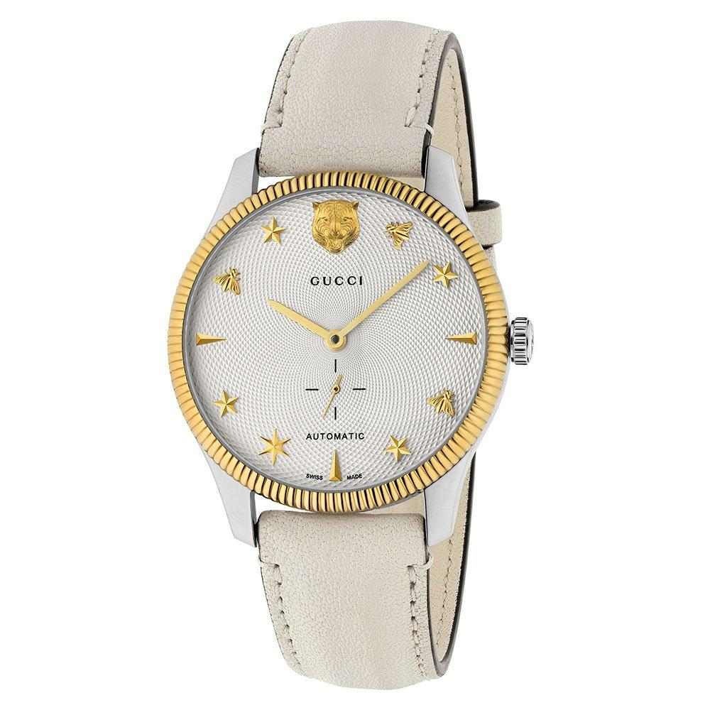 Gucci G-Timeless Stainless Steel and Gold Tone Automatic Watch