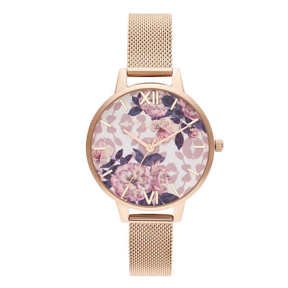 Olivia Burton Wildflower Rose Gold Tone Ladies Watch