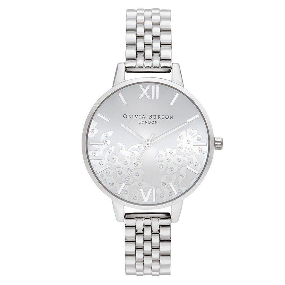 Olivia Burton Bejewelled Lace Ladies Watch