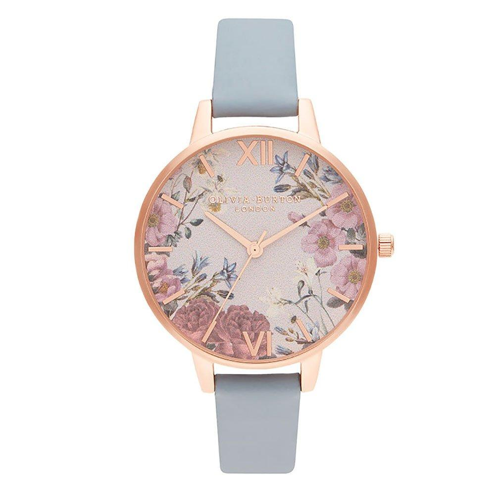 Olivia Burton British Blooms Rose Gold Tone Ladies Watch