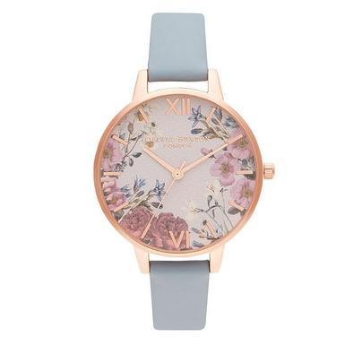 Olivia Burton British Blooms Rose Gold Tone Ladies Watch