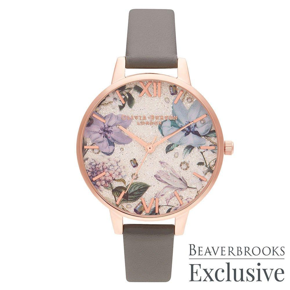 Olivia Burton Exclusive Bejewelled Rose Gold Plated Limited Edition Ladies Watch