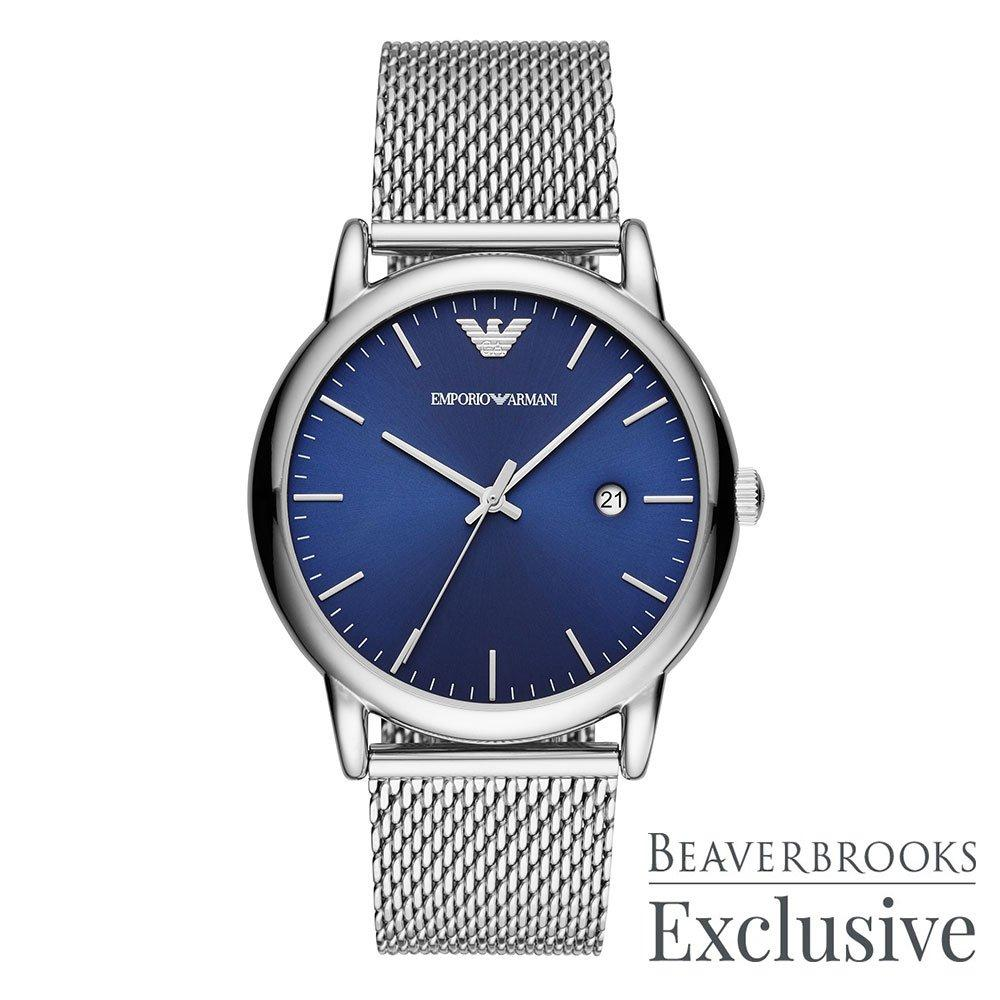 Emporio Armani Exclusive Mesh Men's Watch