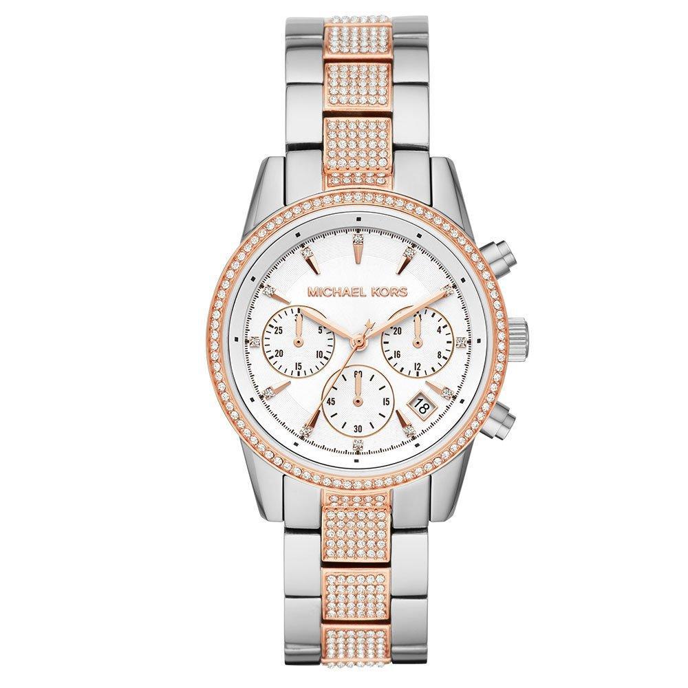 Michael Kors Ritz Two Colour Chronograph Ladies Watch
