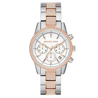 Michael Kors Ritz Two Colour Chronograph Ladies Watch