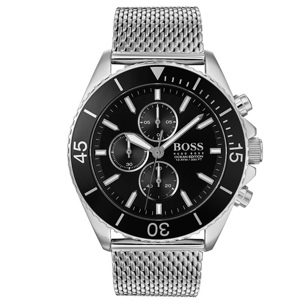 BOSS Ocean Edit Mesh Chronograph Men's Watch