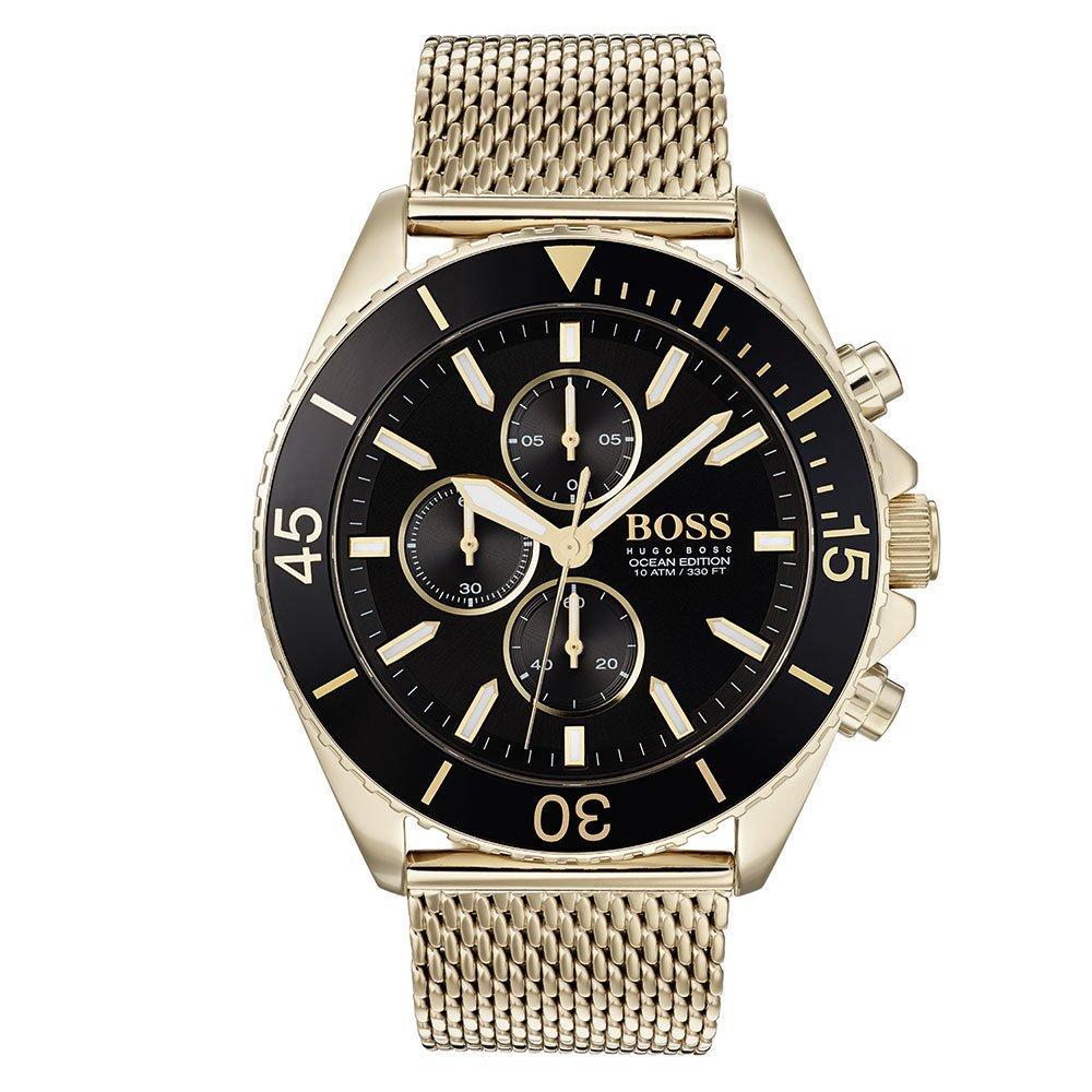 BOSS Ocean Edit Gold Plated Men's Watch
