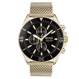 Hugo Boss Ocean Edit Gold Plated Men's Watch