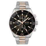 Hugo Boss Ocean Edition GQ Steel and Rose Gold Plated Chronograph Men's Watch
