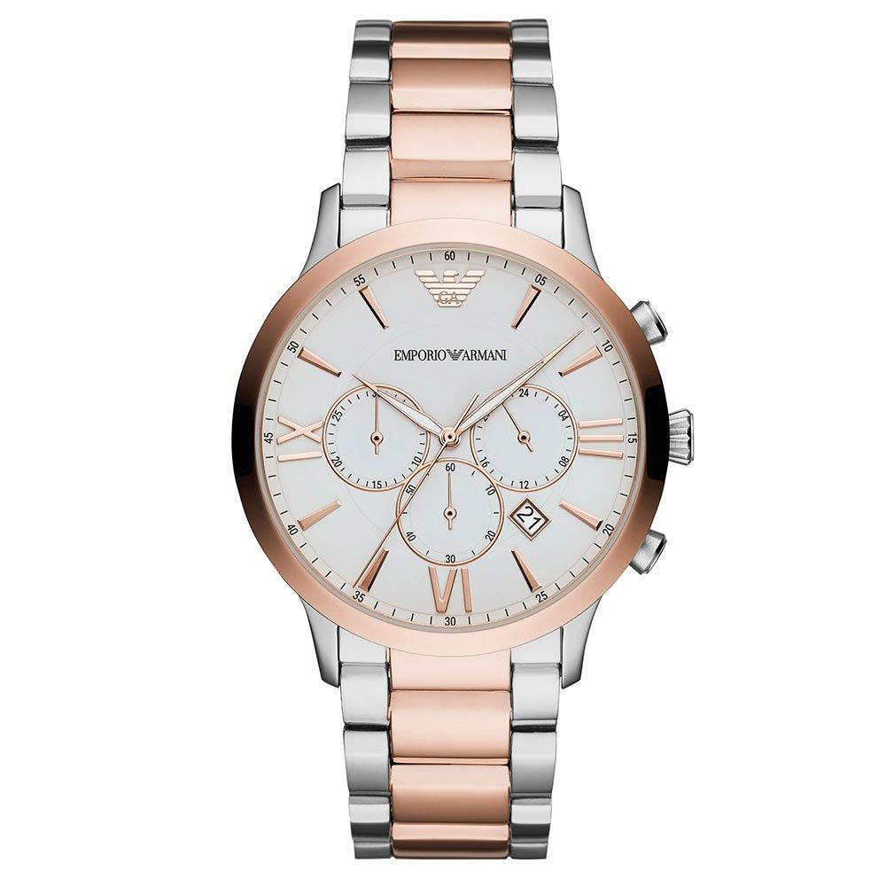 Emporio Armani Two Colour Chronograph Men's Watch