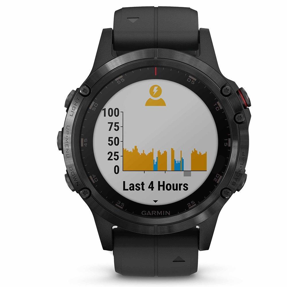 Garmin Fenix 5 Plus GPS Black PVD Smartwatch