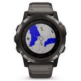 Garmin Fenix 5X Plus GPS Carbon Grey DLC Titanium Smartwatch