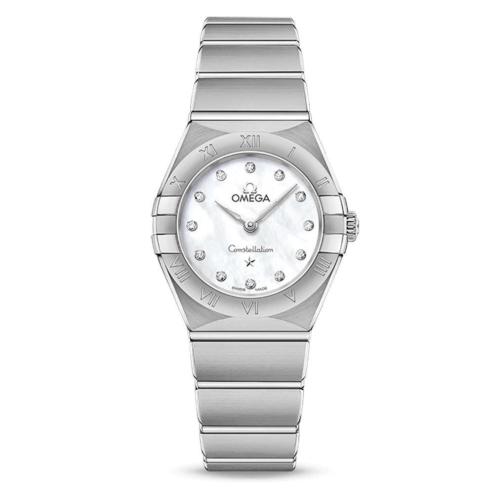 OMEGA Constellation Manhattan Diamond Ladies Watch