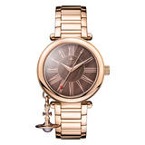 Vivienne Westwood Mother Orb Rose Gold Plated Ladies Watch