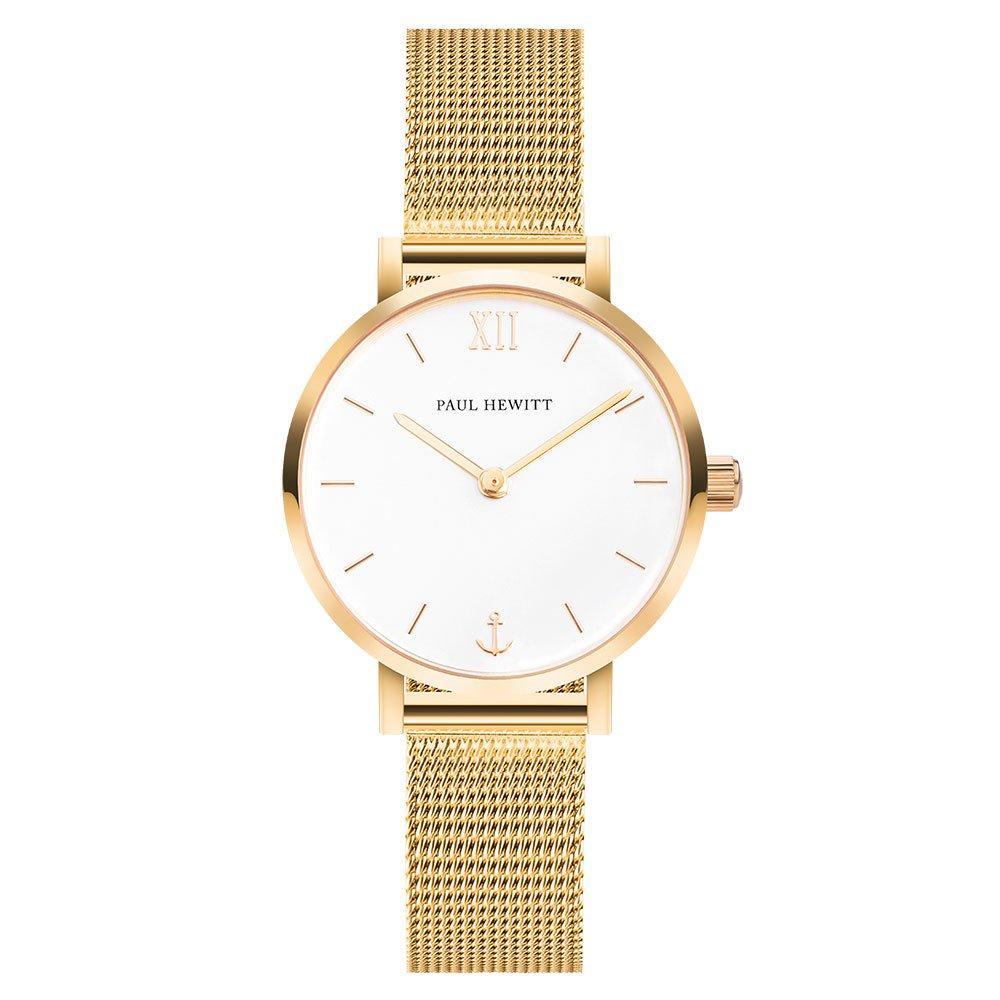 Paul Hewitt Sailor Gold Ion Plated Mesh Ladies Watch