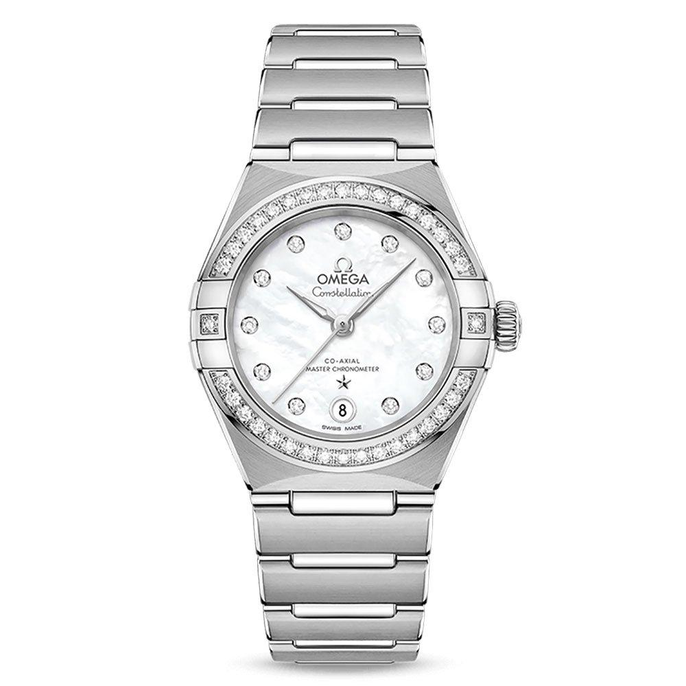 OMEGA Constellation Manhattan Automatic Diamond Ladies Watch
