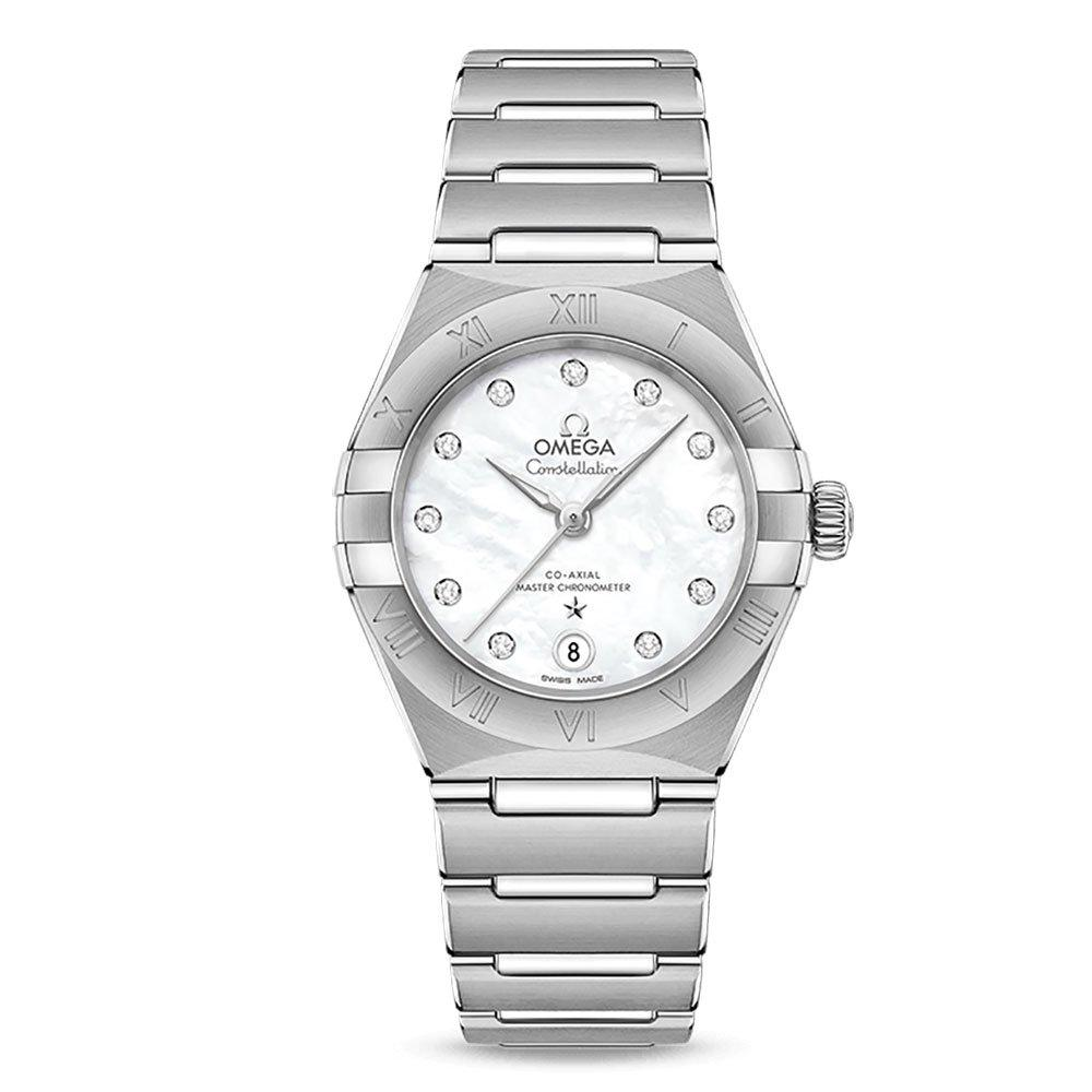OMEGA Constellation Manhattan Co-Axial Master Chronometer Diamond Ladies Watch