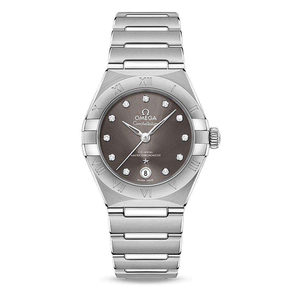 OMEGA Constellation Manhattan Automatic Chronometer Diamond Ladies Watch