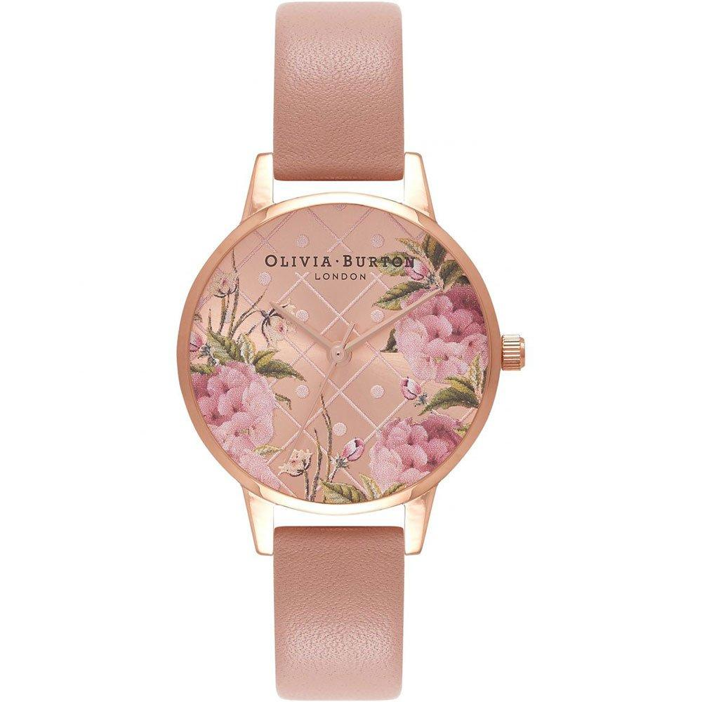 Olivia Burton Vegan Rose Gold Plated Ladies Watch