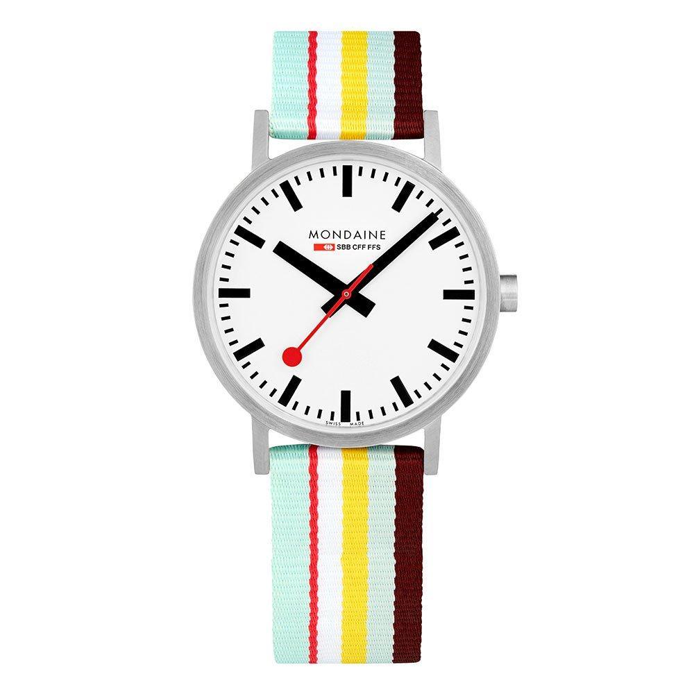 Mondaine Swiss Railways Classic Multi Stripe Watch