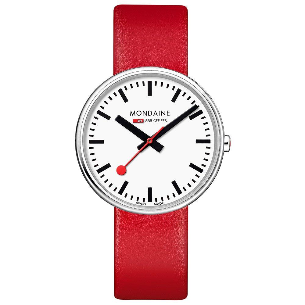 Mondaine Mini Giant BackLight Red Watch