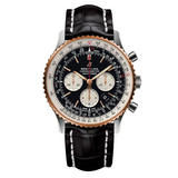 Breitling Navitimer 1 B01 46 18ct Rose Gold and Stainless Steel Chronograph Mechanical Men's Watch