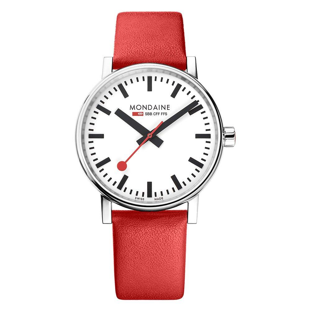 Mondaine Evo2 Red Watch