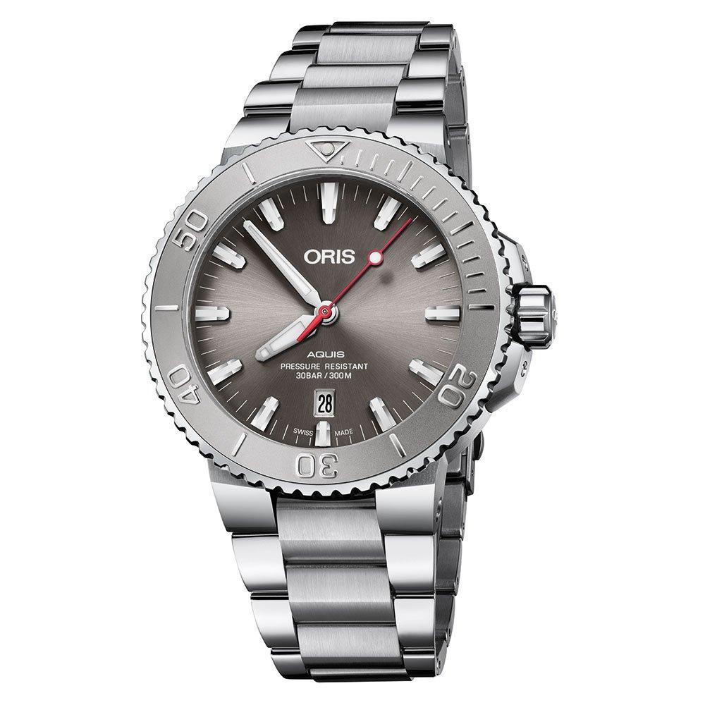 Oris Aquis Date Relief Automatic Diving Men's Watch