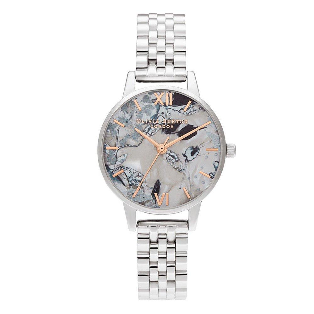 Olivia Burton Abstract Floral Ladies Watch