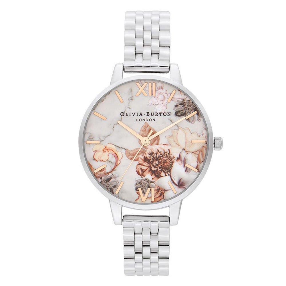 Olivia Burton Marble Floral Ladies Watch