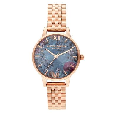 Olivia Burton Under The Sea Rose Gold Plated Ladies Watch
