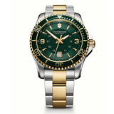 Victorinox Maverick Steel and Gold Plated Men's Watch