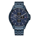 Tommy Hilfiger Blue Ion Plated Chronograph Men's Watch