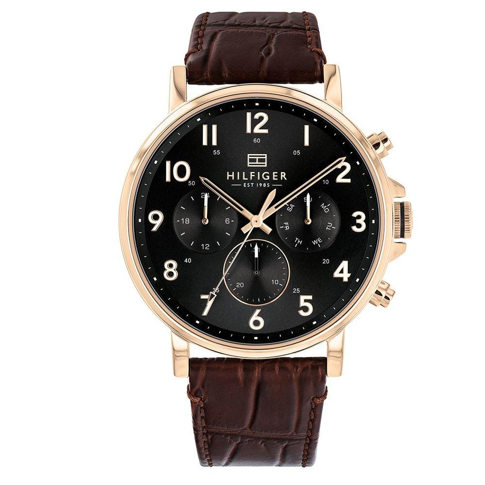 Tommy Hilfiger Rose Gold Plated Chronograph Men's Watch