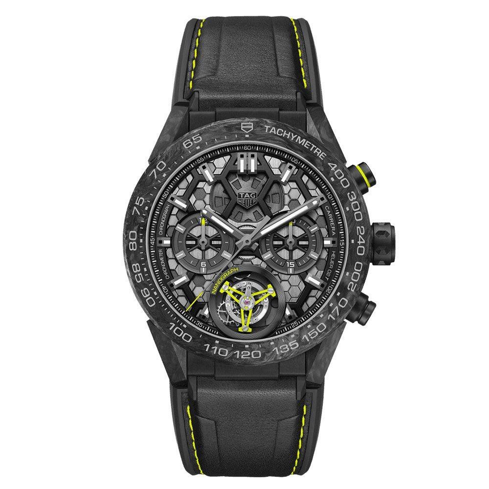 TAG Heuer Carrera Titanium Heuer02T Nanograph Automatic Chronograph Men's Watch