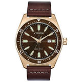 Citizen Eco-Drive Brycen Rose Gold Tone Men's Watch