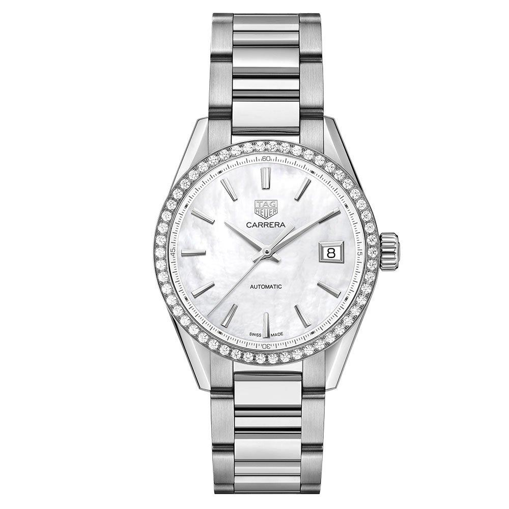 TAG Heuer Carrera Calibre 5 Diamond Automatic Ladies Watch