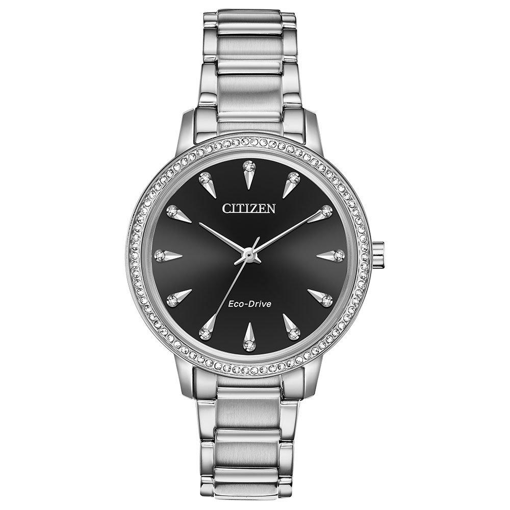Citizen Eco-Drive Silhouette Crystal Ladies Watch