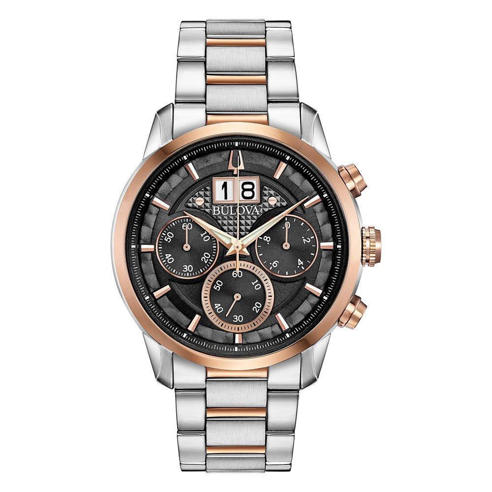 Bulova Two Colour Chronograph Men's Watch