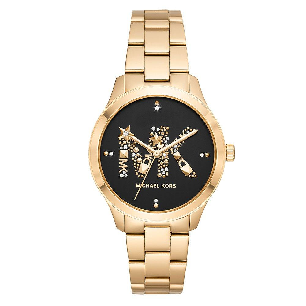 Michael Kors Runway Gold Tone Ladies Watch
