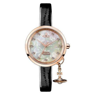 Vivienne Westwood Bow II Rose Gold Plated Ladies Watch