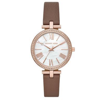 Michael Kors Maci Rose Gold Tone Crystal Ladies Watch