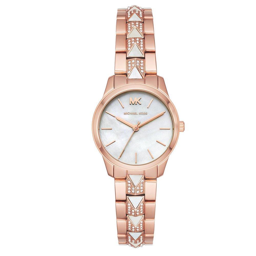 Michael Kors Runway Mercer Rose Gold Tone Ladies Watch