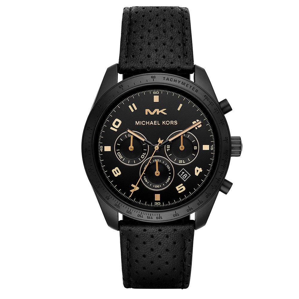 Michael Kors Keaton Black Tone Chronograph Men's Watch