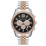 Michael Kors Lexington Tri Tone Chronograph Men's Watch