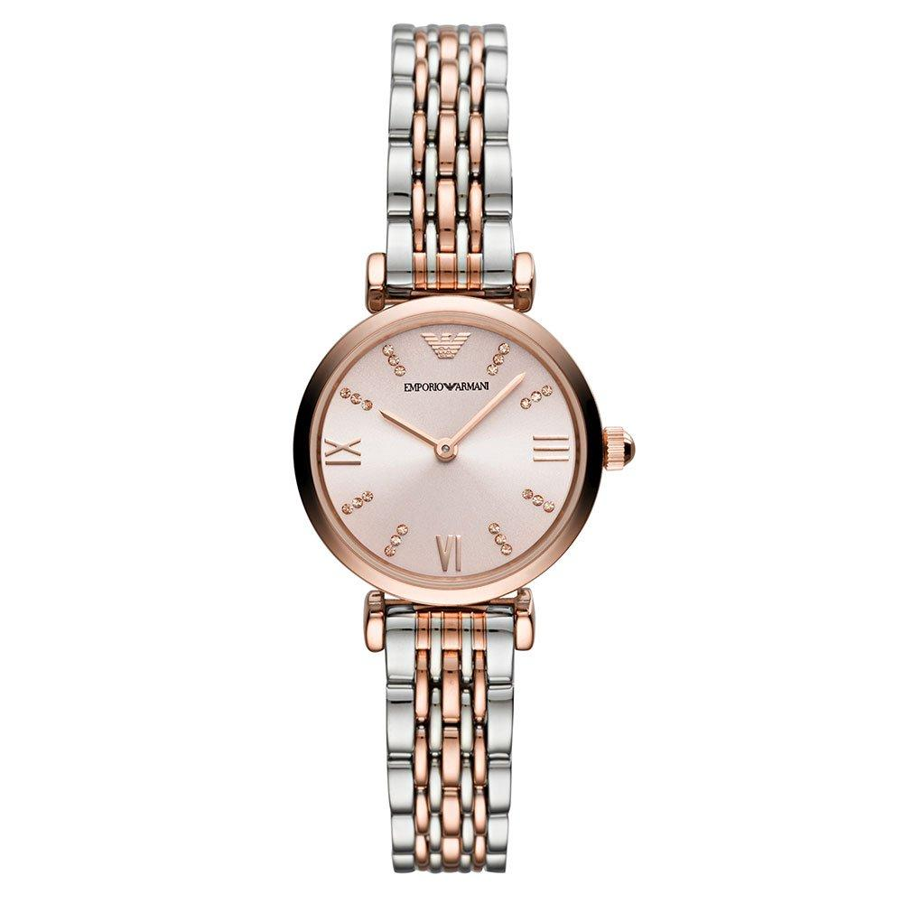 Emporio Armani T-Bar Two-Colour Ladies Watch