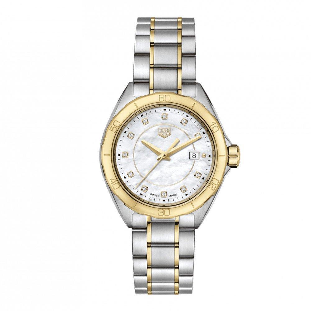 TAG Heuer Formula 1 Steel and Gold Diamond Ladies Watch