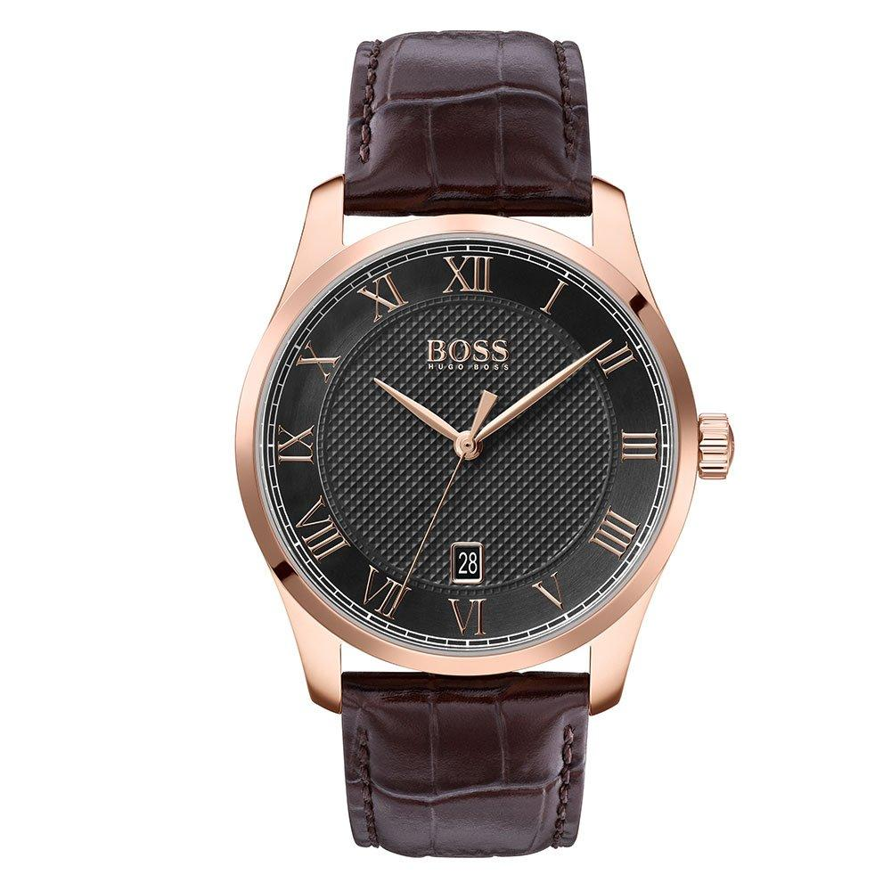 BOSS Master Leather Men's Watch